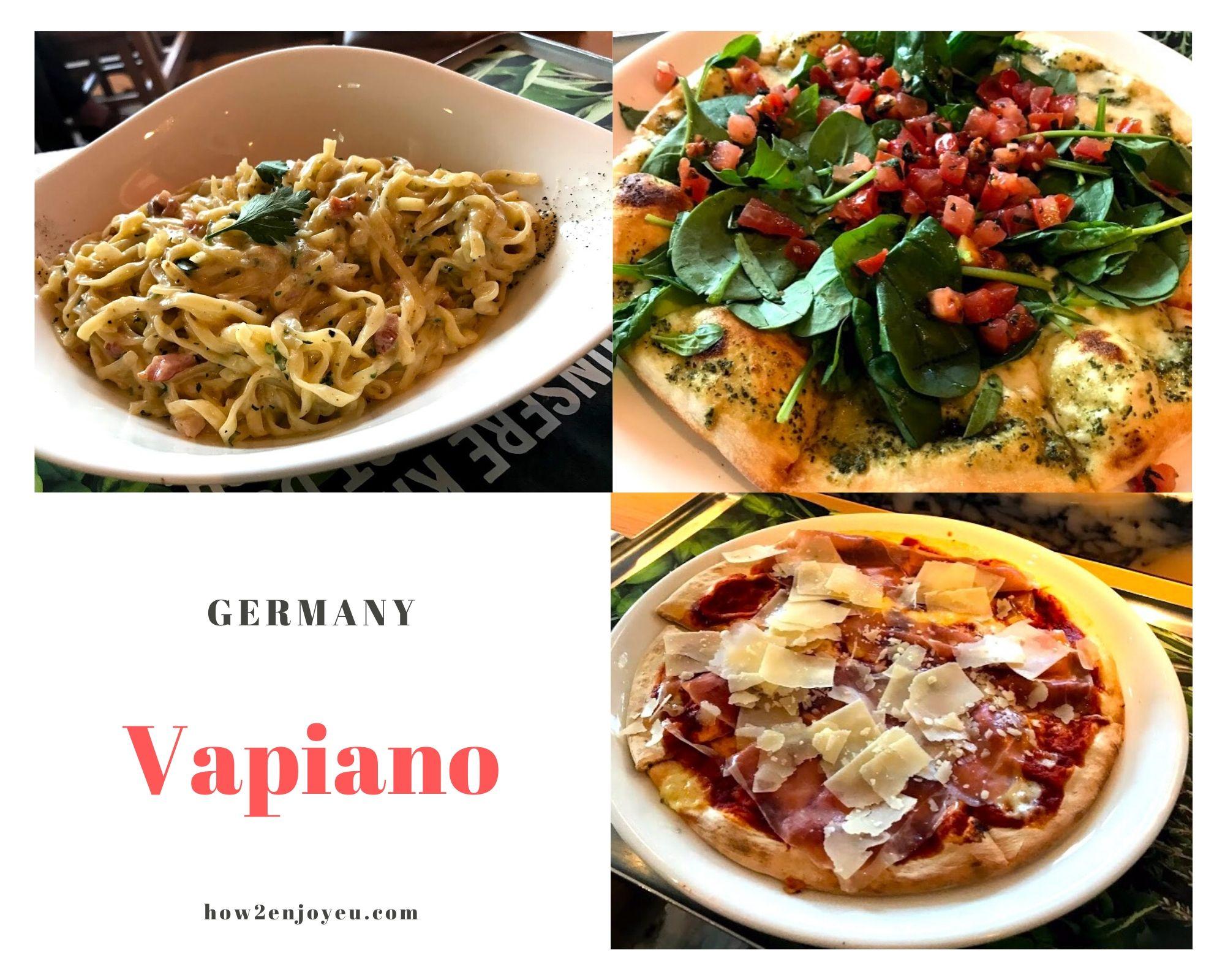ドイツ発のイタリアン・レストラン、Vapianoのコスパはいかに?!