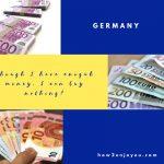 ヨーロッパ旅行、現地通貨を持っているのにモノが買えないことがある?!