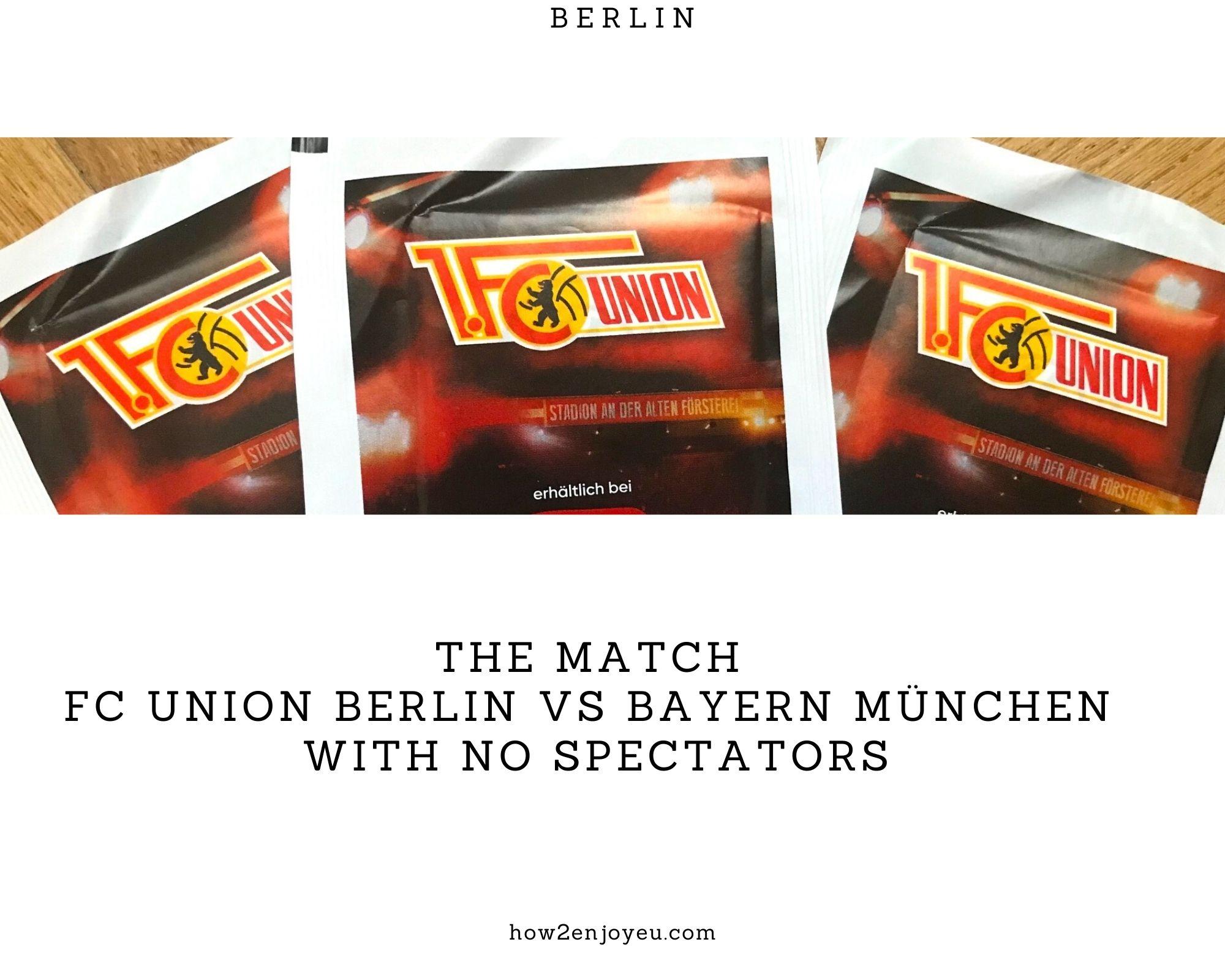 Read more about the article ブンデスリーガー、ウニオン・ベルリン対バイエルン・ミュンヘン戦が無観客試合に【後、試合中止に】