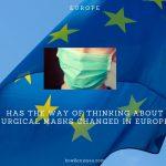 ヨーロッパでマスクに対する考え方が変わってきた?ドイツ人が普通にマスクをしている光景
