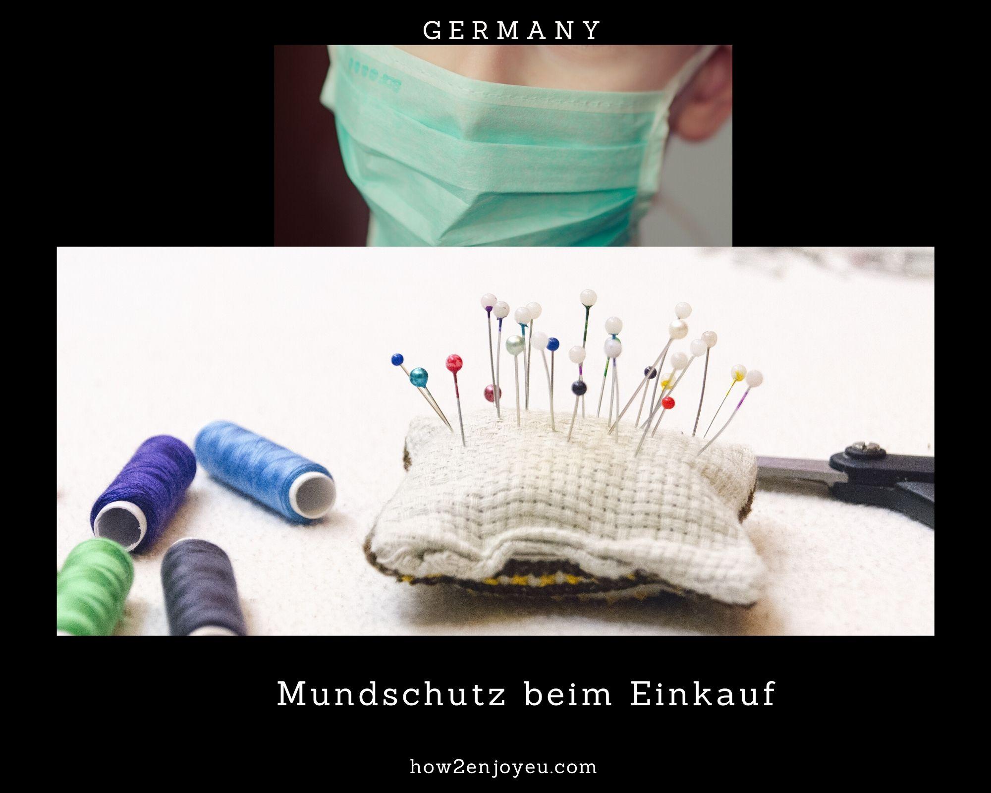 ドイツ、流通業界から「スーパーでの買い物の際にはマスク着用を」とのお願いが