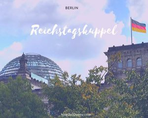 ベルリン、国会議事堂のガラス・ドームの見学には予約が必要