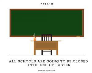 欧州でのコロナ感染拡大、来週からベルリンでも幼稚園&学校が休校に