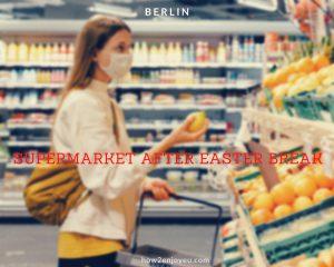 イースター後、スーパーマーケットの光景に驚いた・・・