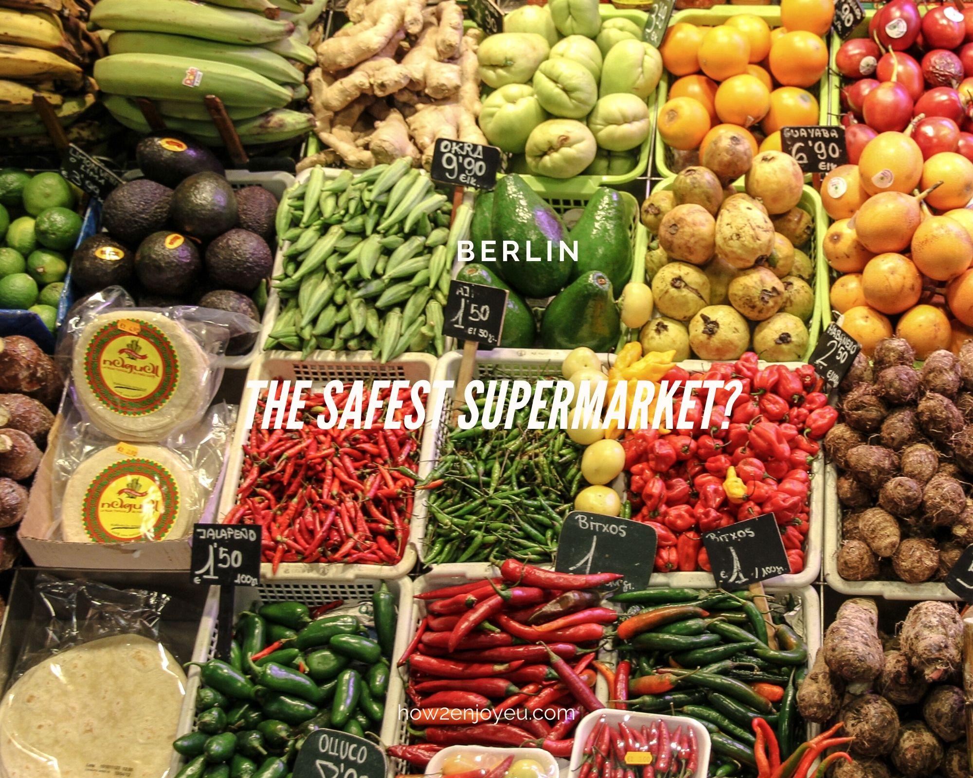 コロナ対策、ベルリンで鉄壁の守りを見せたのはこのスーパー!