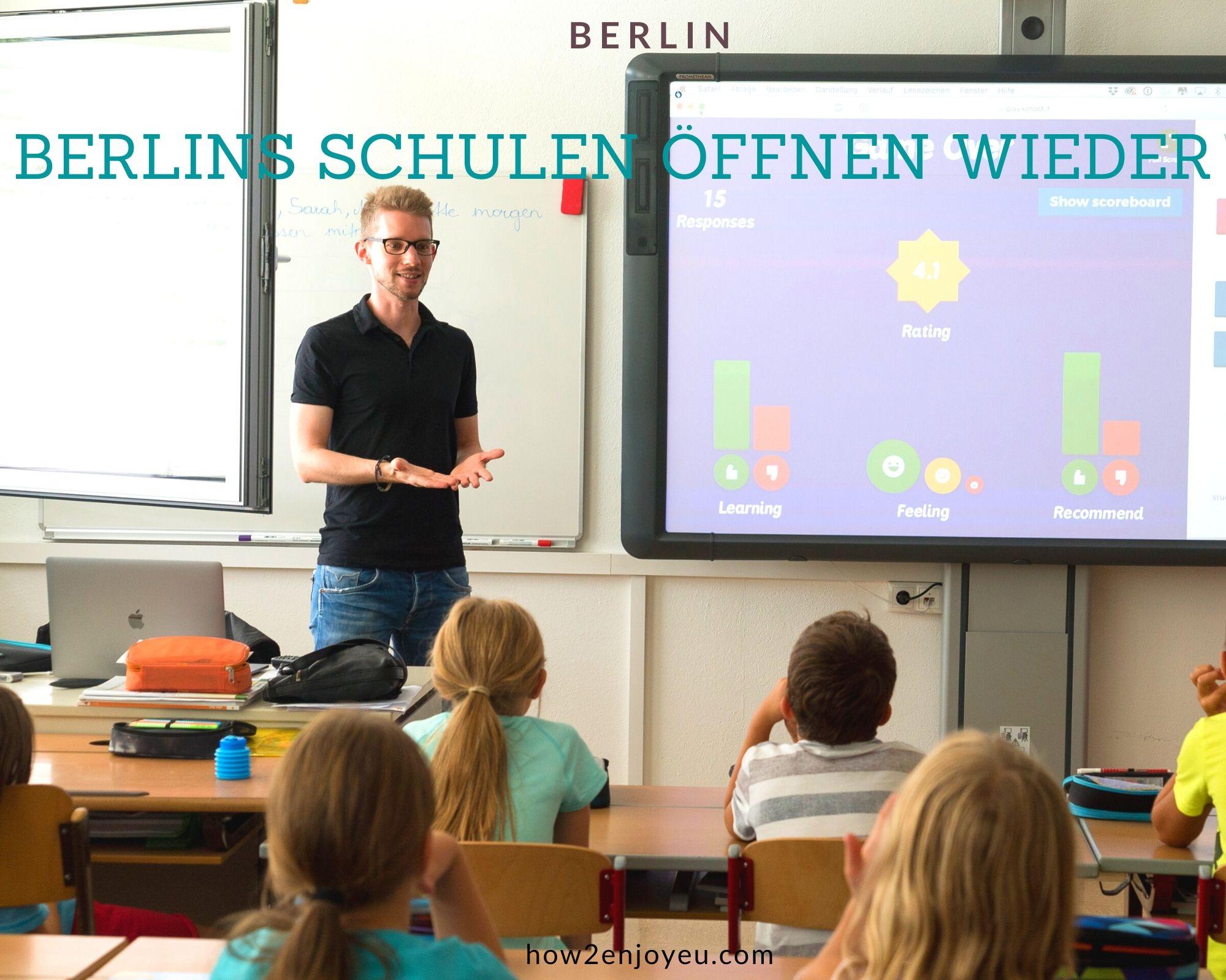 コロナ休校延長、でも5月初旬から徐々に学校再開の予定のベルリン