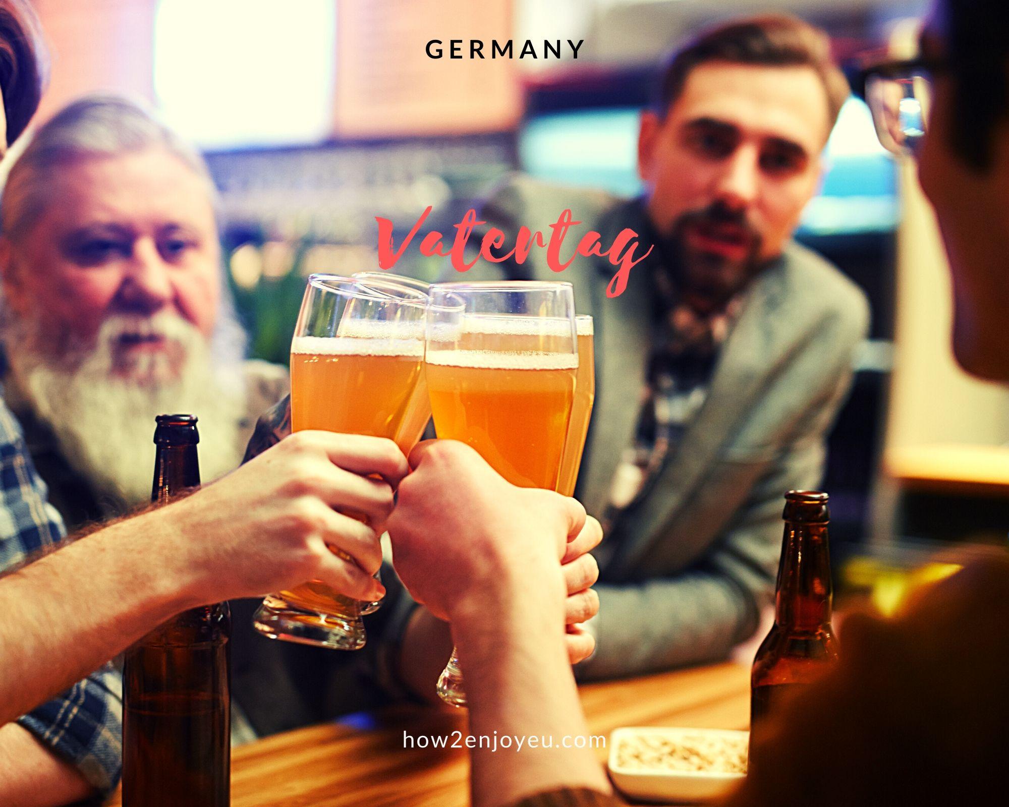 今日はドイツの「父の日」、プレゼント代わりにお父さん達がするのは・・・