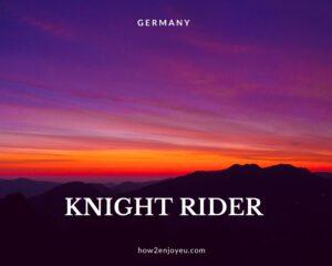 ドイツのアマゾンプライムで「ナイトライダー」を初回から観た