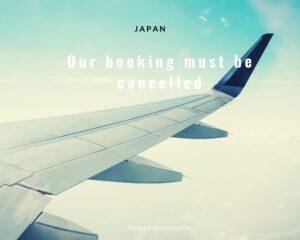 夏の日本行きの航空券、果たしてキャンセルできるのか?