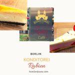 ベルリン、バウムクーヘンで有名なラビーンはケーキも美味しい