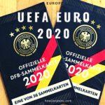 スーパーで「オフィシャルDFB(ドイツ・サッカー連盟)コレクションカード2020」を貰った、が・・・