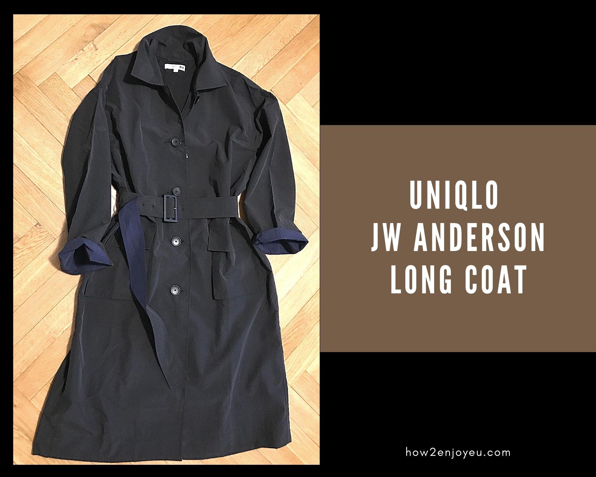 【ユニクロ×JW ANDERSON】のロングコート、オバさんを喜ばせるポイントがたくさん