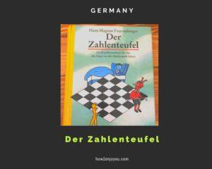東大理三でミス東大の愛読書、アマゾンでベストセラーになった「数の悪魔」をドイツで読む