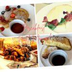 ヴロツワフ、ホテル・モノポールの朝食ビュッフェ