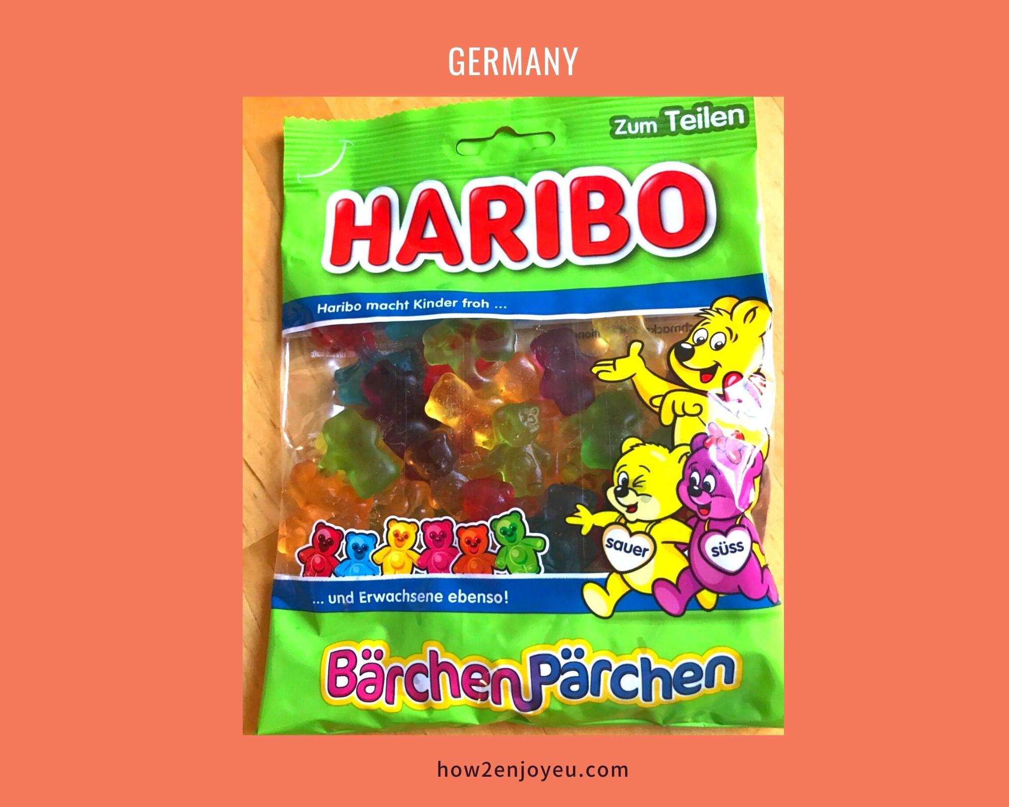 子グマの可愛いカップル・グミ、HARIBOのBärchen Pärchen