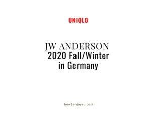 2020年JW ANDERSONの秋冬物、ドイツではこれがすでに完売っぽい