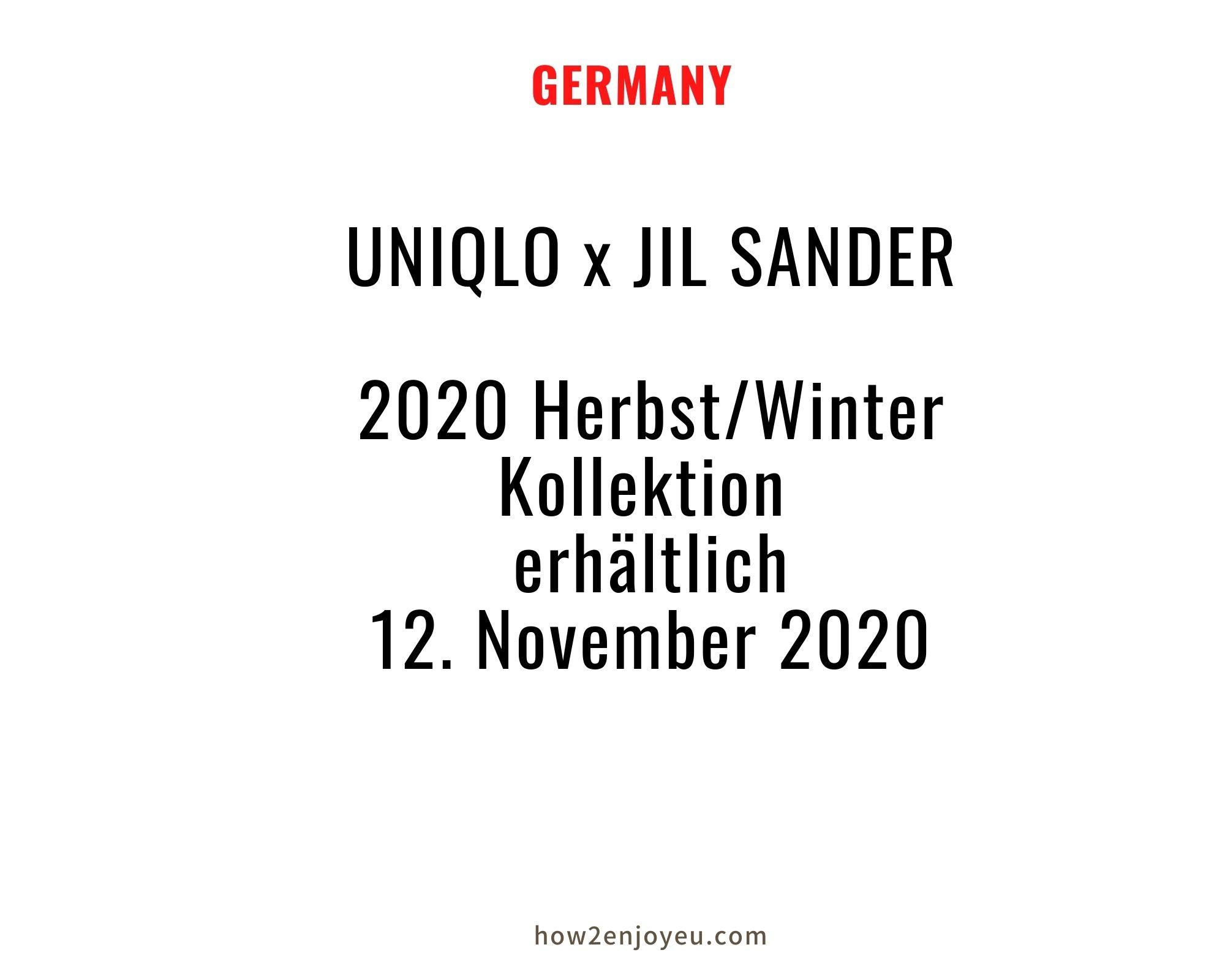 ジル・サンダーとユニクロのコラボ、「プラスJ」の発売日が決定、ドイツは日本より1日早く販売スタート