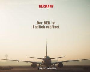 開かずの空港と呼ばれた「ベルリン・ブランデンブルク国際空港」遂に開港!
