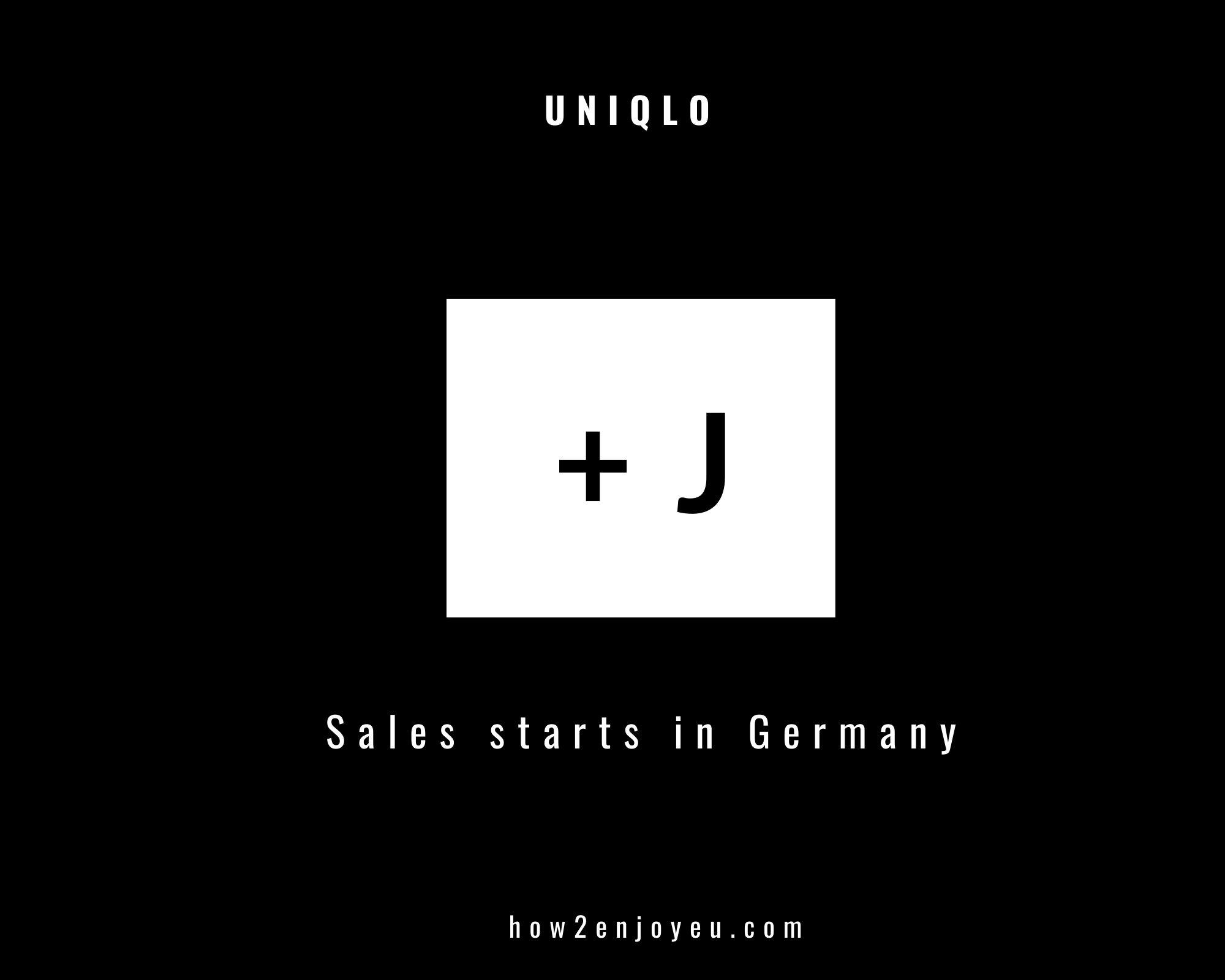ドイツのユニクロ、【プラスJ】発売日、最速完売したアイテムはこれだ