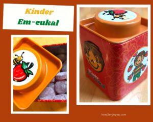 ドイツの子供用のど飴「Kinder Em- eukal」