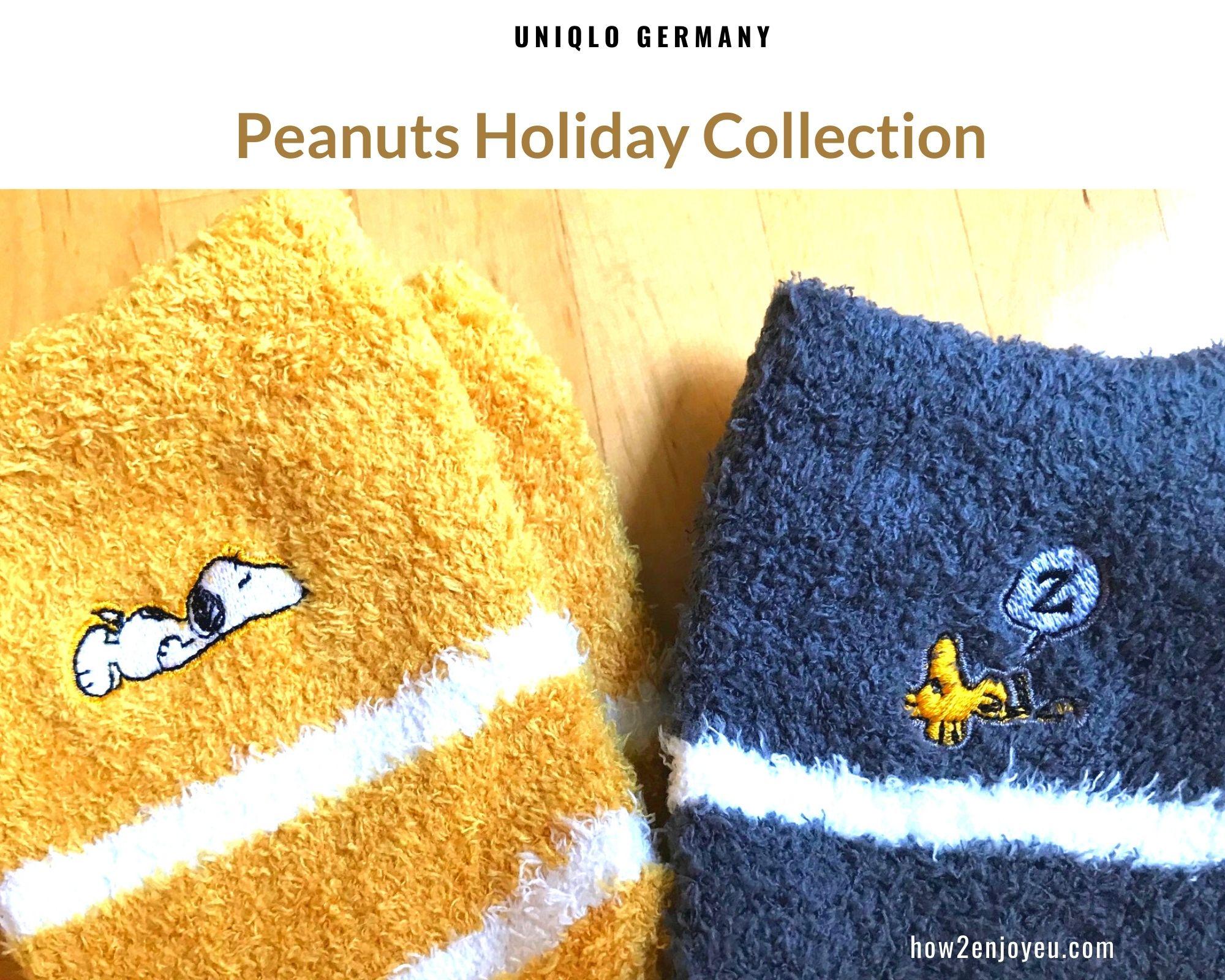 ユニクロ【ピーナッツ ホリデー コレクション】ドイツではかなり入手困難な商品かも?