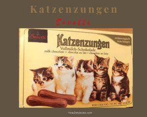 Sarottiの猫の舌チョコ【Katzenzungen】はお値段以上