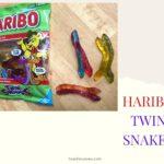 HARIBOの新商品、2匹のヘビのグミ【Twin Snakes】