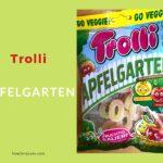 ヴィーガンの人も食べられるベジグミ、【Trolli Apfelgarten】