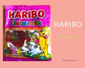 もうすぐイースター、【HARIBO】のグミ「Ostermix」を買った