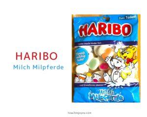 ハリボー、ミルク味のカバ型グミ【Haribo Milch Milpferde】