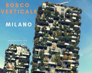Read more about the article ミラノ、 ボスコ・ヴェルティカーレ【Bosco Verticale】「垂直の森」を観に行こう