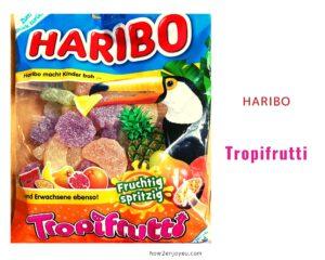 ハリボー の定番、トロピカルフルーツ・グミの新バージョン?【Tropifrutti Haribo】