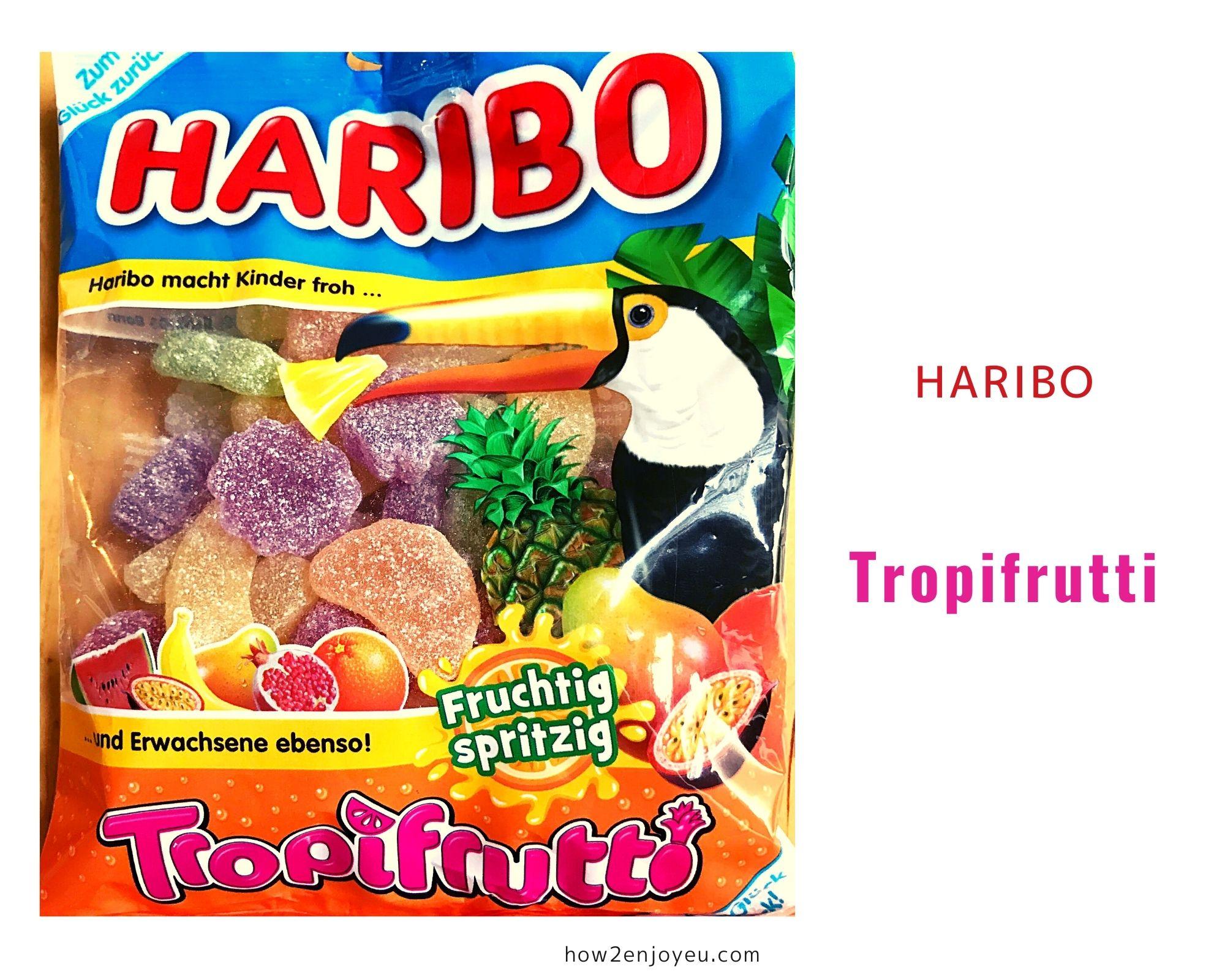 Read more about the article ハリボー の定番、トロピカルフルーツ・グミの新バージョン?【Tropifrutti Haribo】