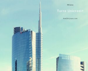 Read more about the article イタリアで1番の高層建築、メガバンクの本社ビル、ウニクレディト・タワー【Torre Unicredit】