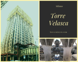 Read more about the article ミラノの近代建築を代表する建物、トーレ・ヴェラスカ【Torre Velasca】