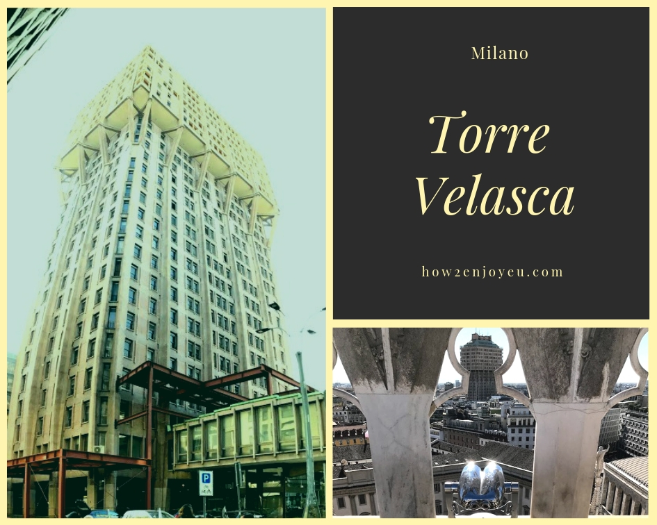 You are currently viewing ミラノの近代建築を代表する建物、トーレ・ヴェラスカ【Torre Velasca】