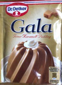 Gala Pudding