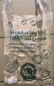 aldi plastic bag
