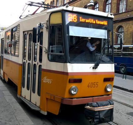 budapest tram2