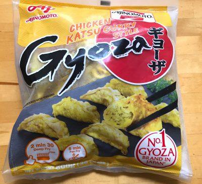 chiken katsu curry gyoza