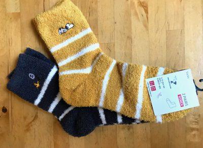 peanut holiday socks