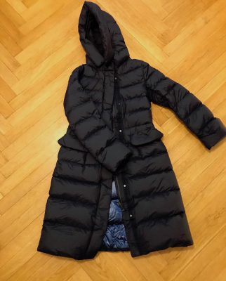plus J Ultra Light Down Hooded Coat