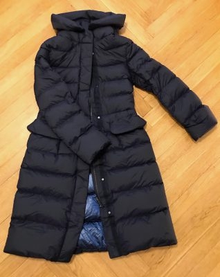 plus J plus J Ultra Light Down Hooded Coat2